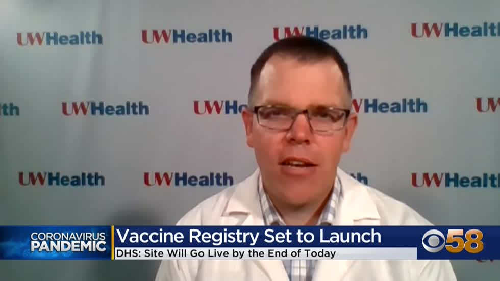 Wisconsin COVID-19 vaccination registry set to launch